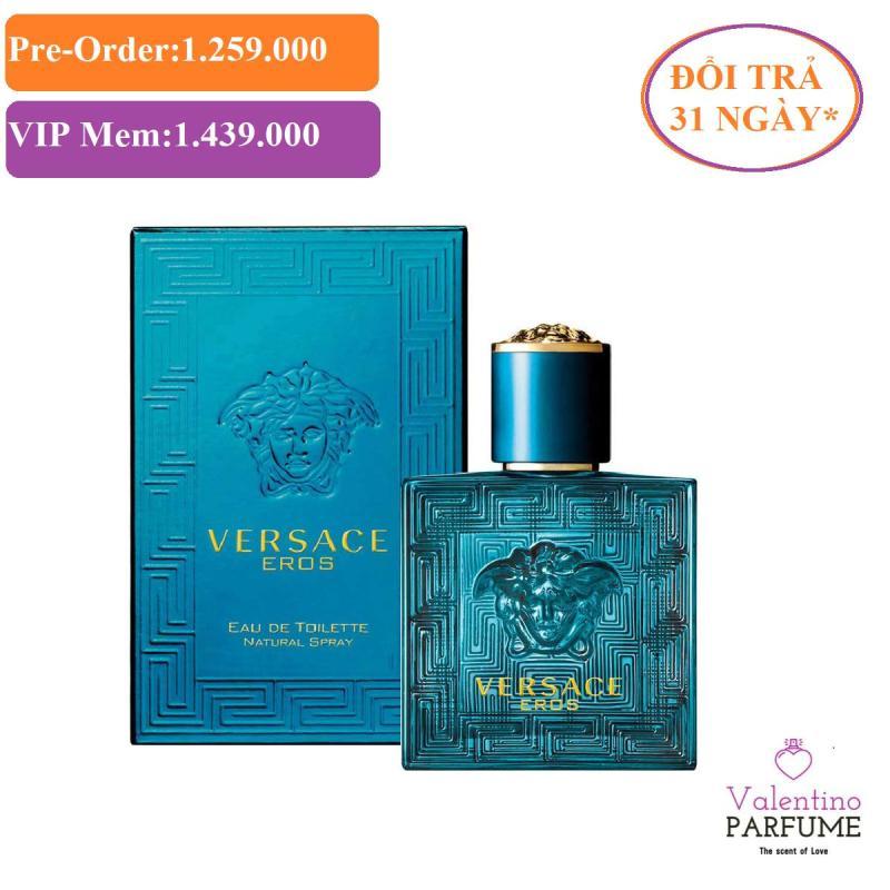 Nước hoa cao cấp Versace Eros EDT Men 100ml - Đổi trả 31 ngày