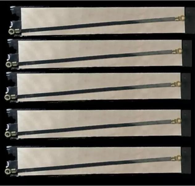 5 bộ dây nhiệt và màng chống dính thay thế máy ép miệng túi nhựa nilon 200x5mm