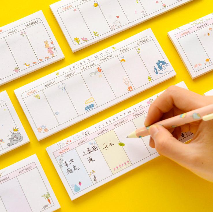 Mua Tập kế hoạch tuần Angoo (40 tờ)