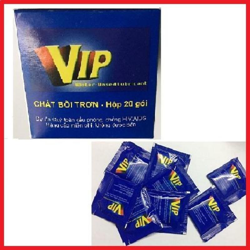 Gel bôi trơn VIP ( Hộp 20 gói).