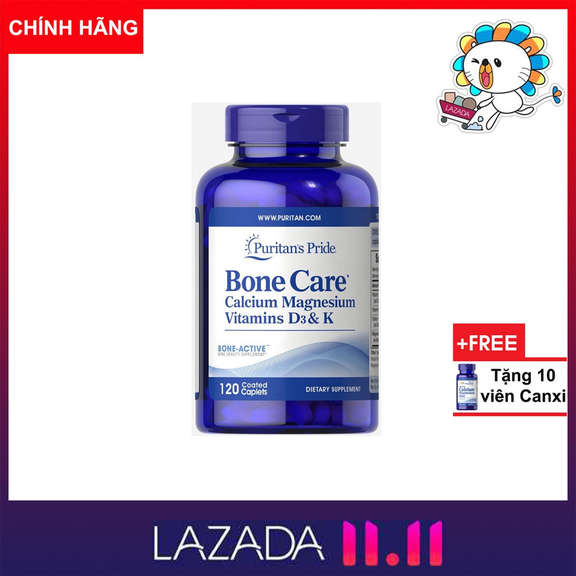 Mua Vitamin Tng Hp Puritans Pride Online Gi Tt Calcium Magnesium Citrate Plus D 100 Capsules Vin Ung B Sung Canxi K Magie Gip Xng Chc Khe