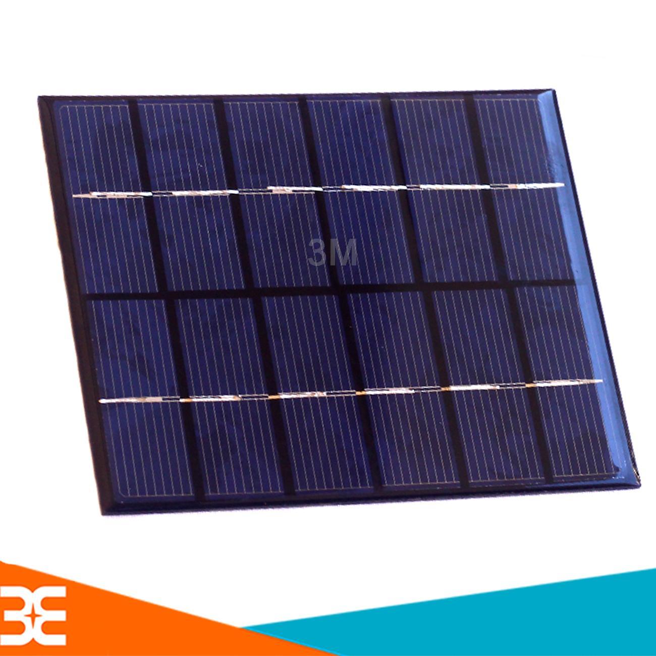 Tấm Pin Năng Lượng Mặt Trời 6V 2W 130x110mm
