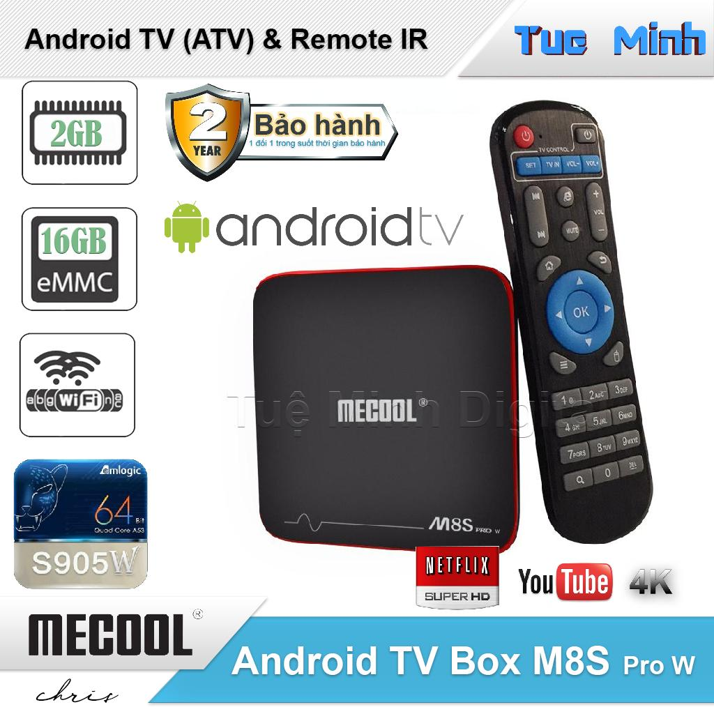 Android TV Box Mecool M8s Pro W - AndroidTV OS, Điều khiển IR