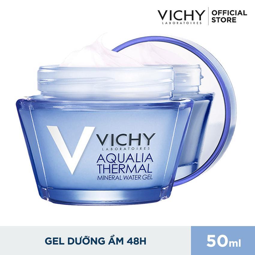 Hình ảnh Gel dưỡng ẩm giúp da dịu mát Vichy Aqualia Mineral Water 50ml