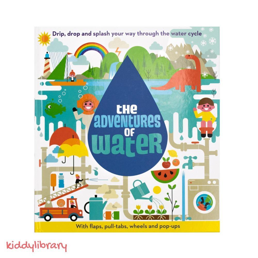Sách Tiếng Anh 3d độc đáo The Adventures Of Water By Ct Tnhh Kiddy Library