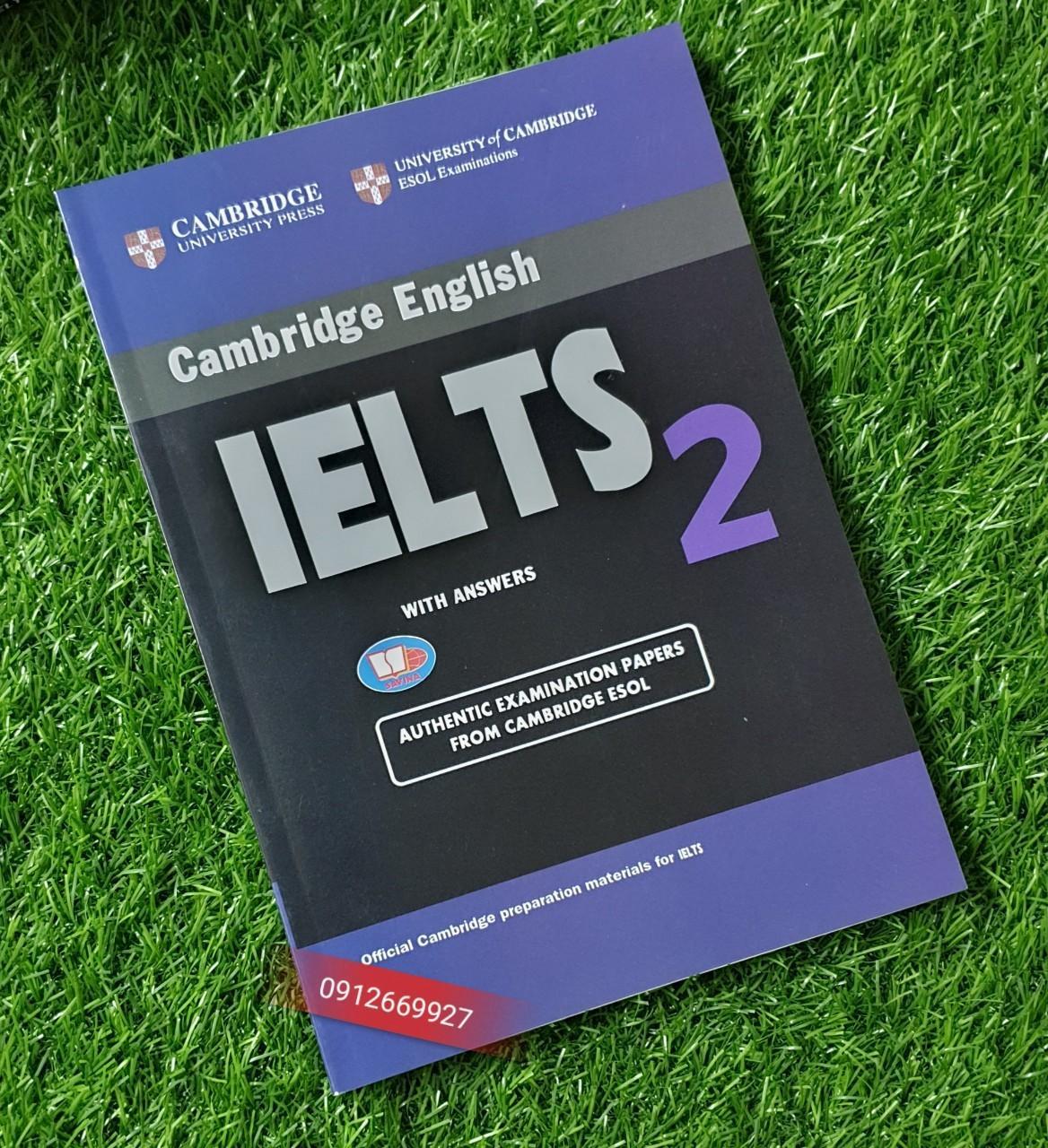 Mua Sách Tài liệu luyện thi Cambridge IELTS 2 with answer