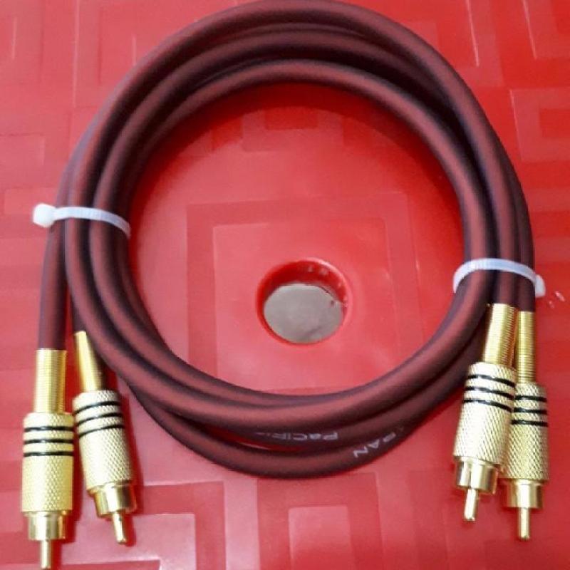 cặp dây jack AV màu vàng tốt dài 1m