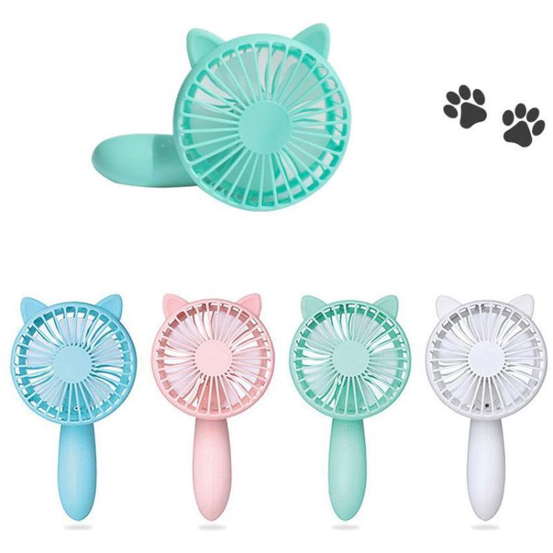 Bảng giá Quạt mini cầm tay hình mèo Hello Summer loại mới 2018 Phong Vũ