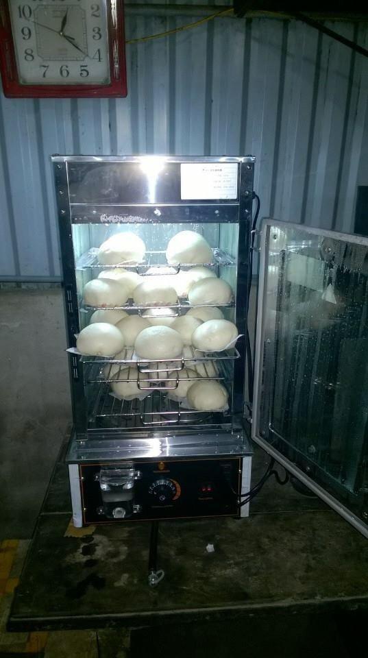 Tủ hấp bánh bao H500 bằng kính 5 khay chứa