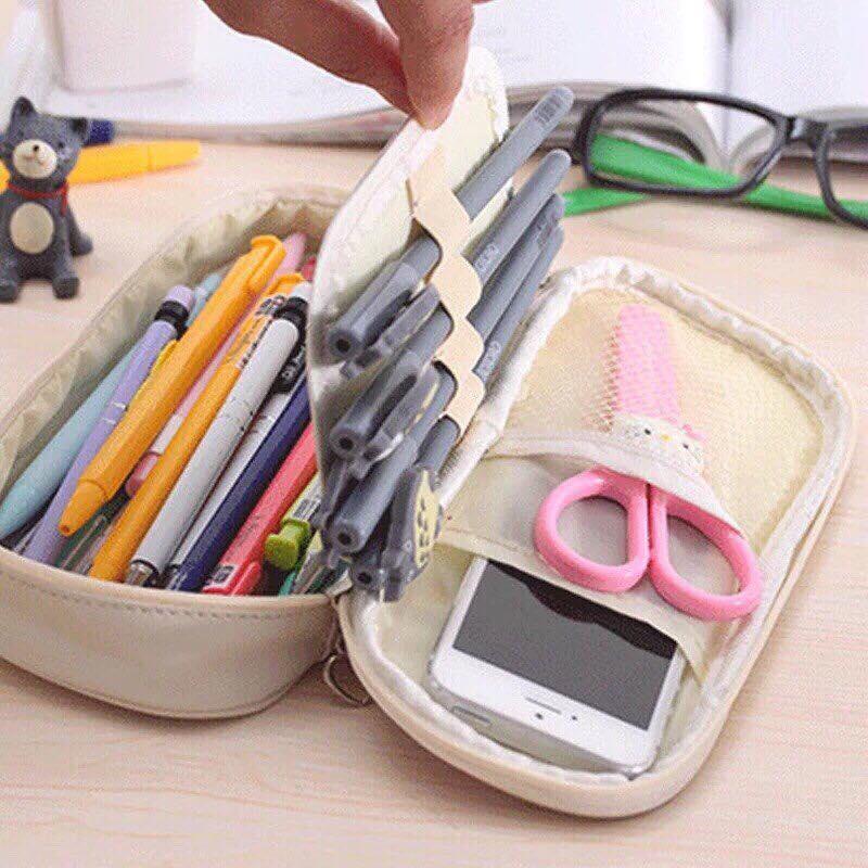 Mua Hộp đựng bút cho trường học và văn phòng  (màu ngẫu nhiên)