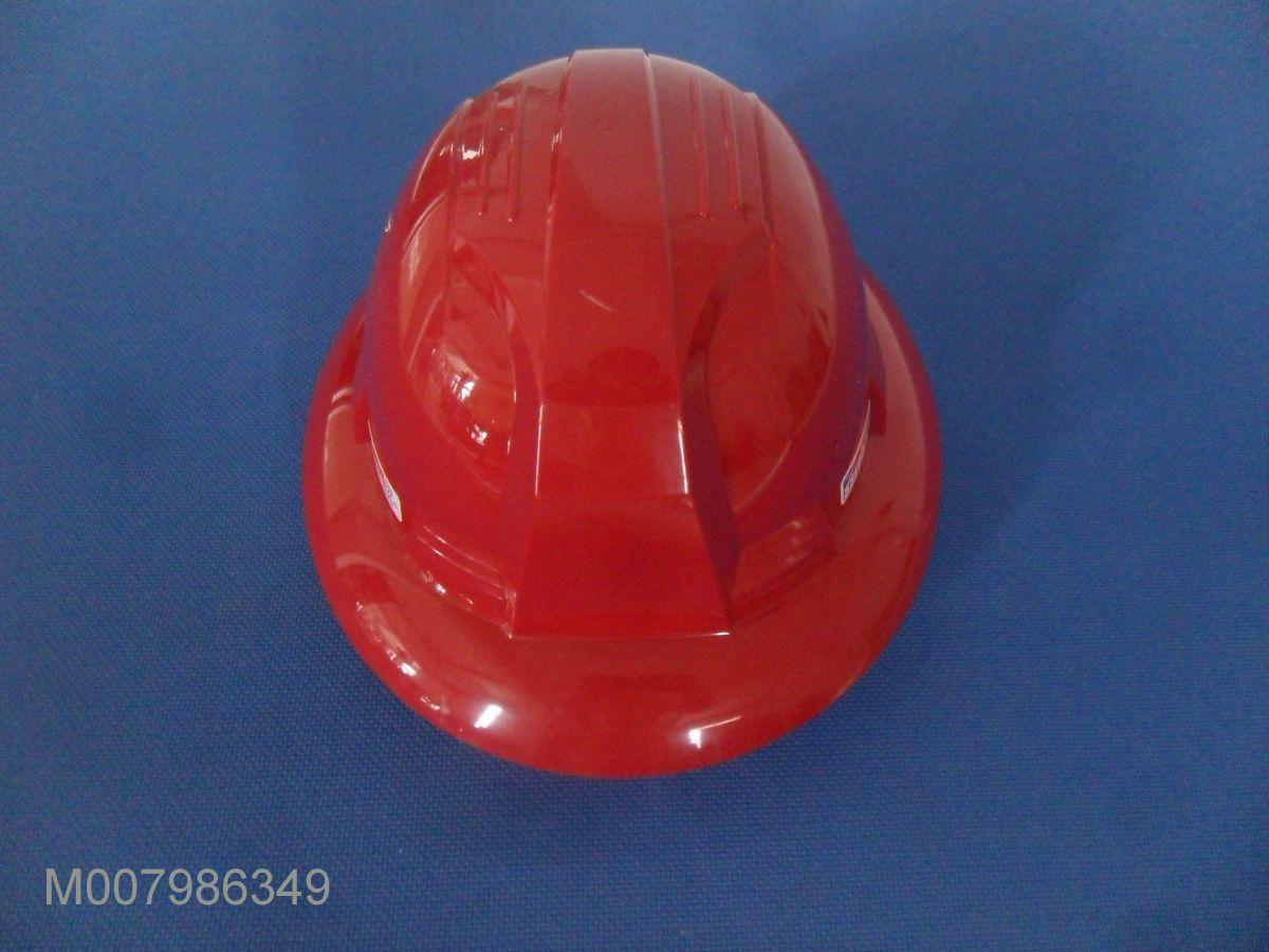Mũ an toàn Hàn Quốc SSEDA vành rộng màu đỏ