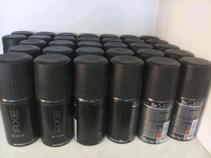 ( Au) Combo 10 chai xịt khử mùi Axe Black 50ml + Tặng kèm 1 chai lăn khử mùi nivia nam