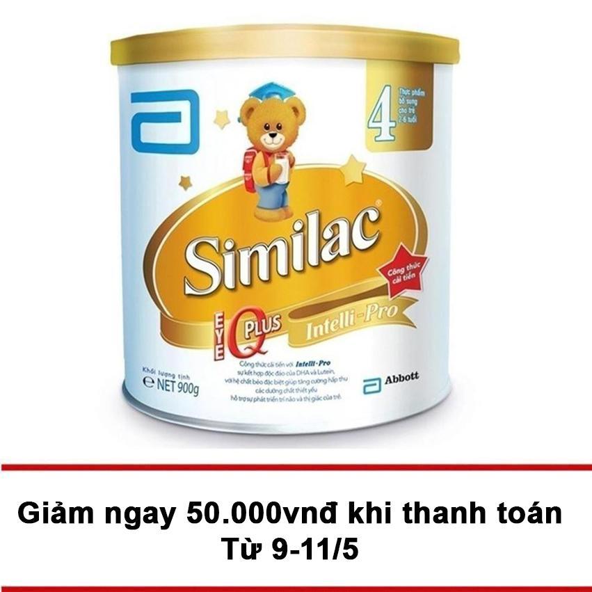 Mua Sữa Bột Similac Iq 4 Hương Vani 900G Trực Tuyến Hồ Chí Minh
