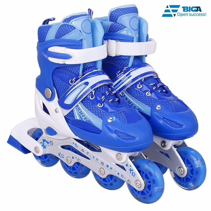 Giày Trượt Patin QF Xanh Size L (42) US05507 - 07