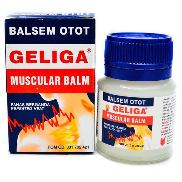 1 hộp dầu cù là lửa Geliga Indonesia