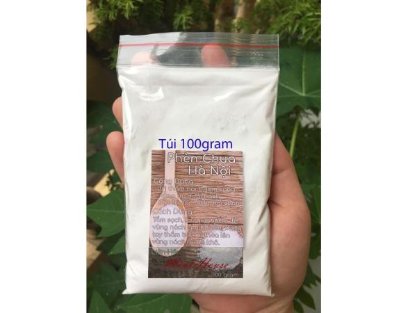 Bột Phèn Chua Phi khử mùi hôi nách, hôi chân túi 100gram