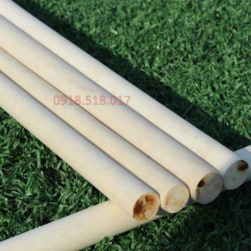 Hình ảnh Gậy thể dục phi 22mm, gỗ Bạch Lạp,
