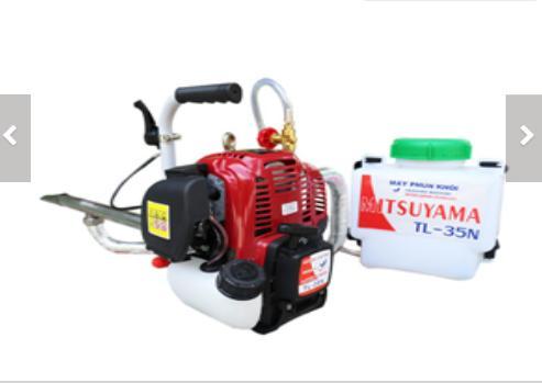 Máy phun khói diệt côn trùng HLC-55 động cơ  Mitsuyama TL-35N