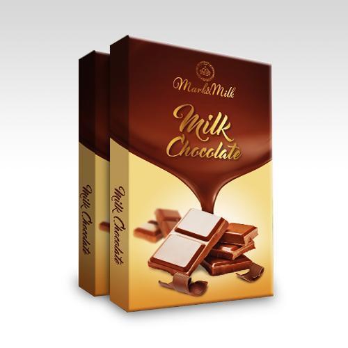 Hình ảnh Socola sữa thanh 50g | Mark & Milk Chocolate