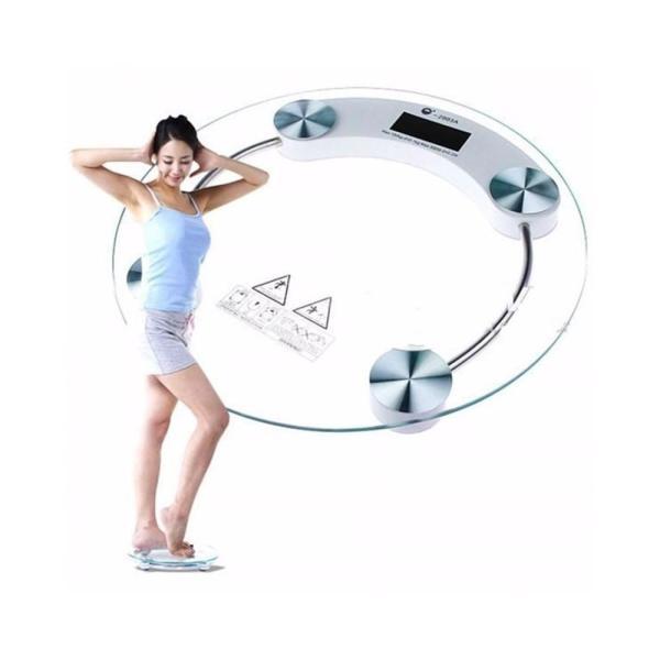 Cân tròn điện tử ( đo sức khỏe ) - GIA DỤNG ĐÓ ĐÂY