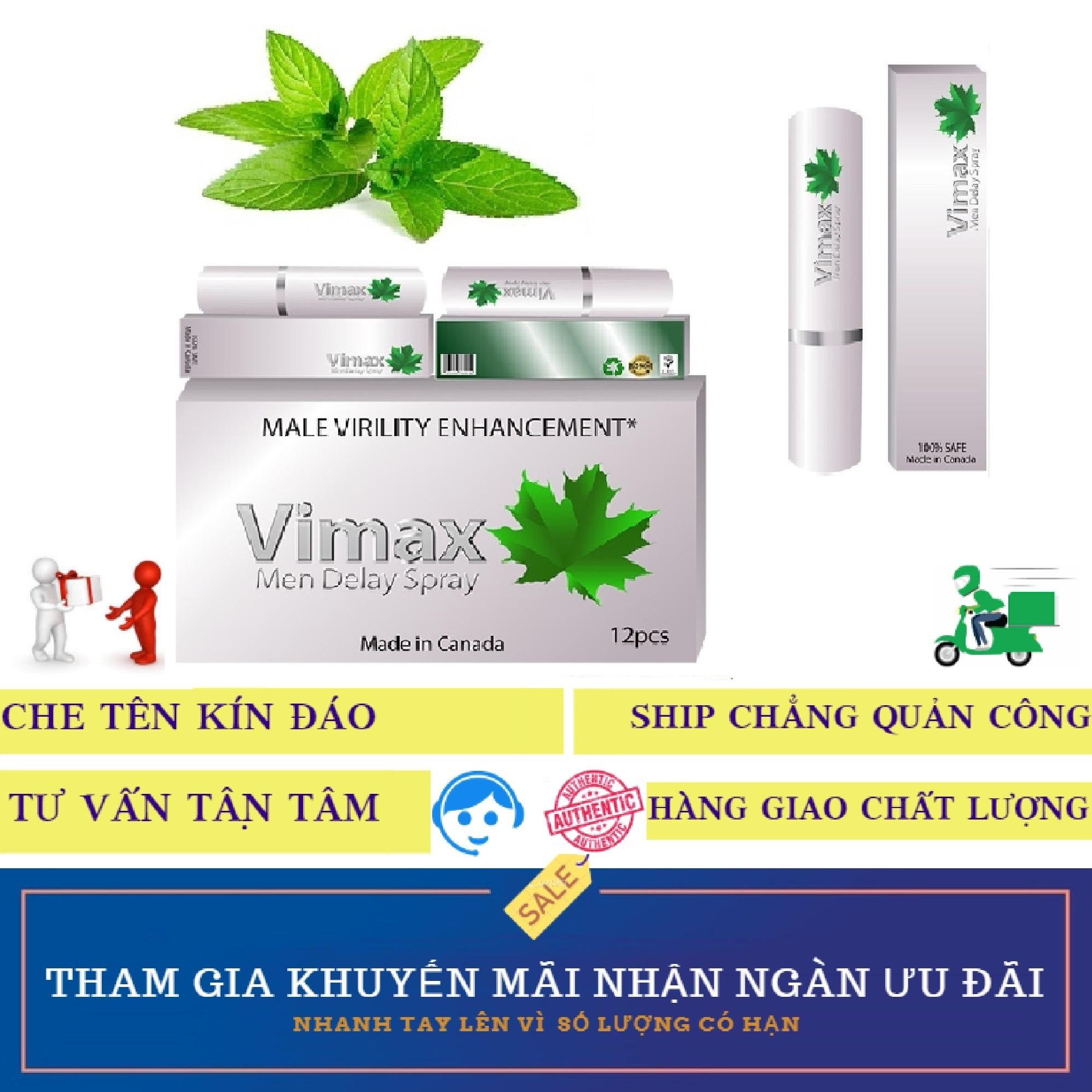 Chai xịt tăng sức khỏe và sức bền nam giới Vimax