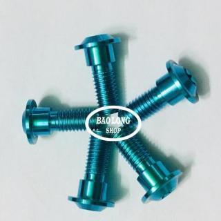 5 ỐC TITANIUM GR5 gắn Đĩa trước Exciter 150 (xanh lục bảo) thumbnail