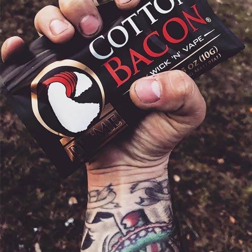 Bông Cotton Bacon Price Mới - Bông Thích Hợp Chơi Khói tốt nhất