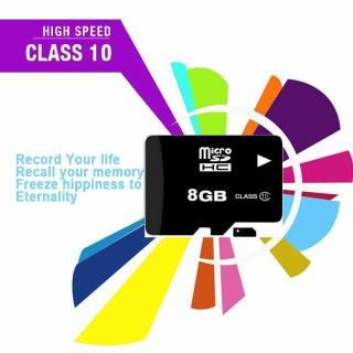 Thẻ nhớ Micro SD 8GB class 10 - Hàng chuẩn đủ dung lượng thumbnail