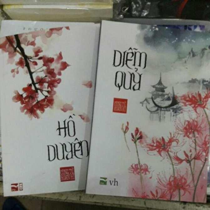 Mua Combo 2 cuốn truyện ngôn tình Hồ Duyên Diễm Quỷ
