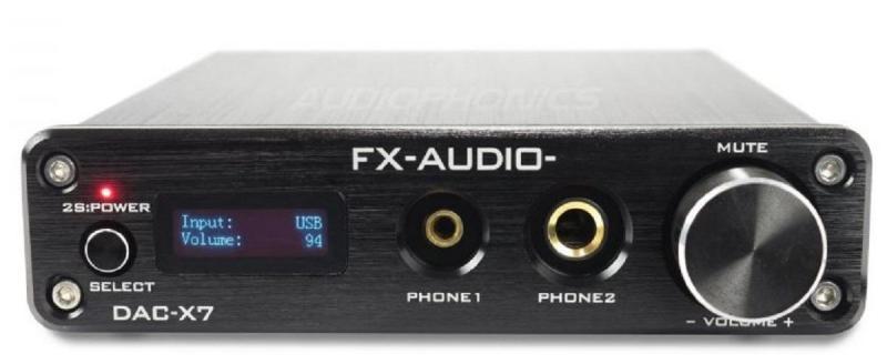 DAC giải mã FX-AUDIO DAC-X7 32Bit / 384kHz - Tặng 299k