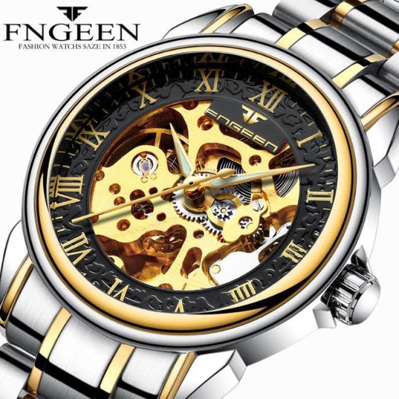 Đồng hồ nam FNGEEN 6688 máy cơ automatic (Nhiều màu)