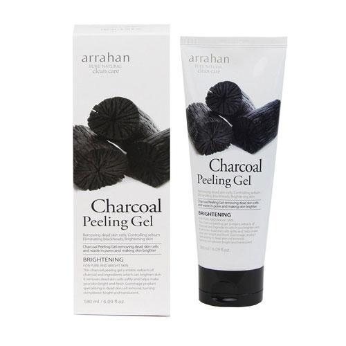 Gel tẩy tế bào da chết chiết xuất từ than hoạt tính - ARRAHAN Charcoal Peeling - Loại bỏ tế bào da chết trong 5s cao cấp