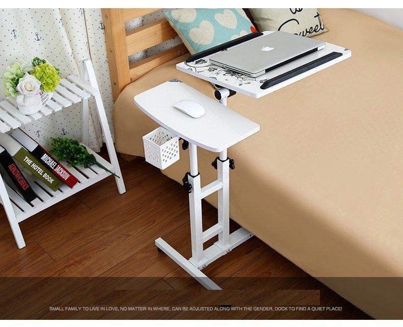Hình ảnh Bàn laptop di động cao cấp 2 mảnh (Trắng) - Kmart