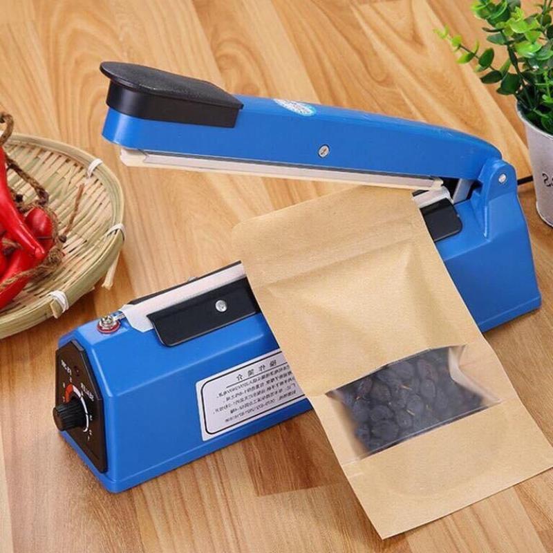 Máy hàn miệng túi nilon dập tay Impulse Sealer 20cm PFS-200