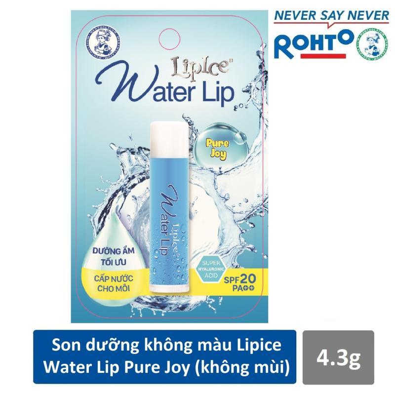 Son dưỡng không màu LipIce Water Lip không mùi 4.3g cao cấp