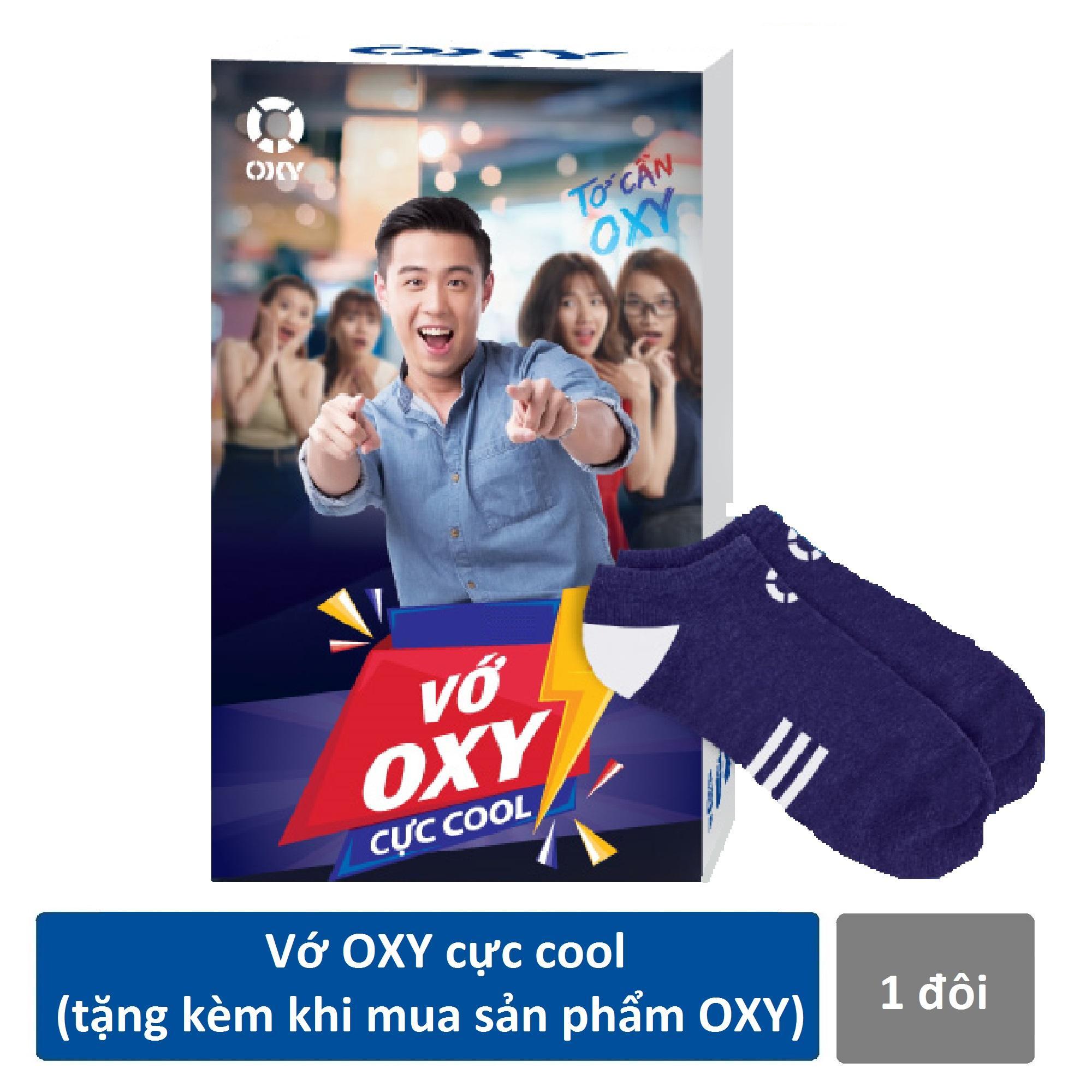 Vớ OXY cực cool (tặng kèm khi mua sản phẩm rửa mặt OXY)