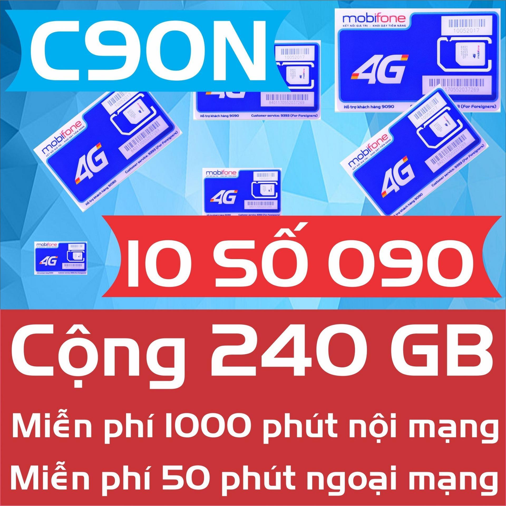 Hình ảnh SIM C90N 4G/3G MOBIFONE 240 GB + GỌI MIỄN PHÍ