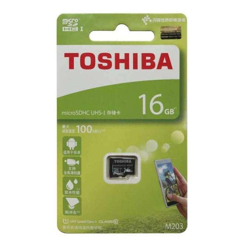 Thẻ nhớ MicroSDHC Toshiba 100MB/s - 16GB