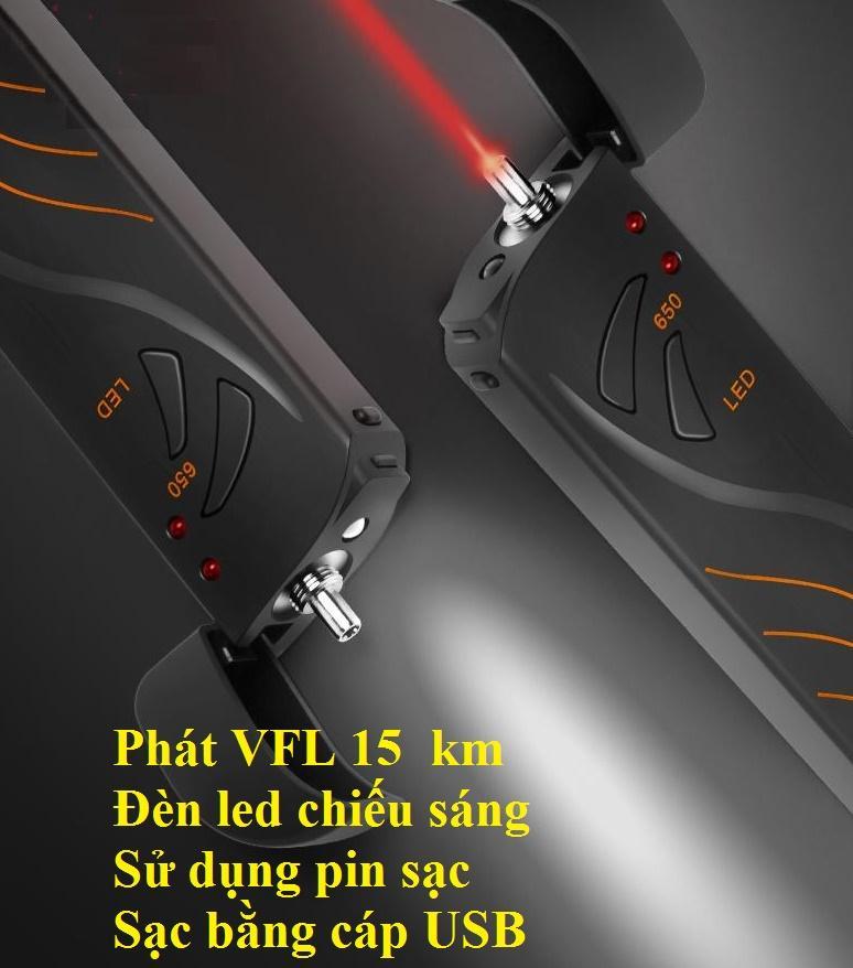 Giá Bút dò lỗi sợi quang SGV 15km (sử dụng pin sạc)