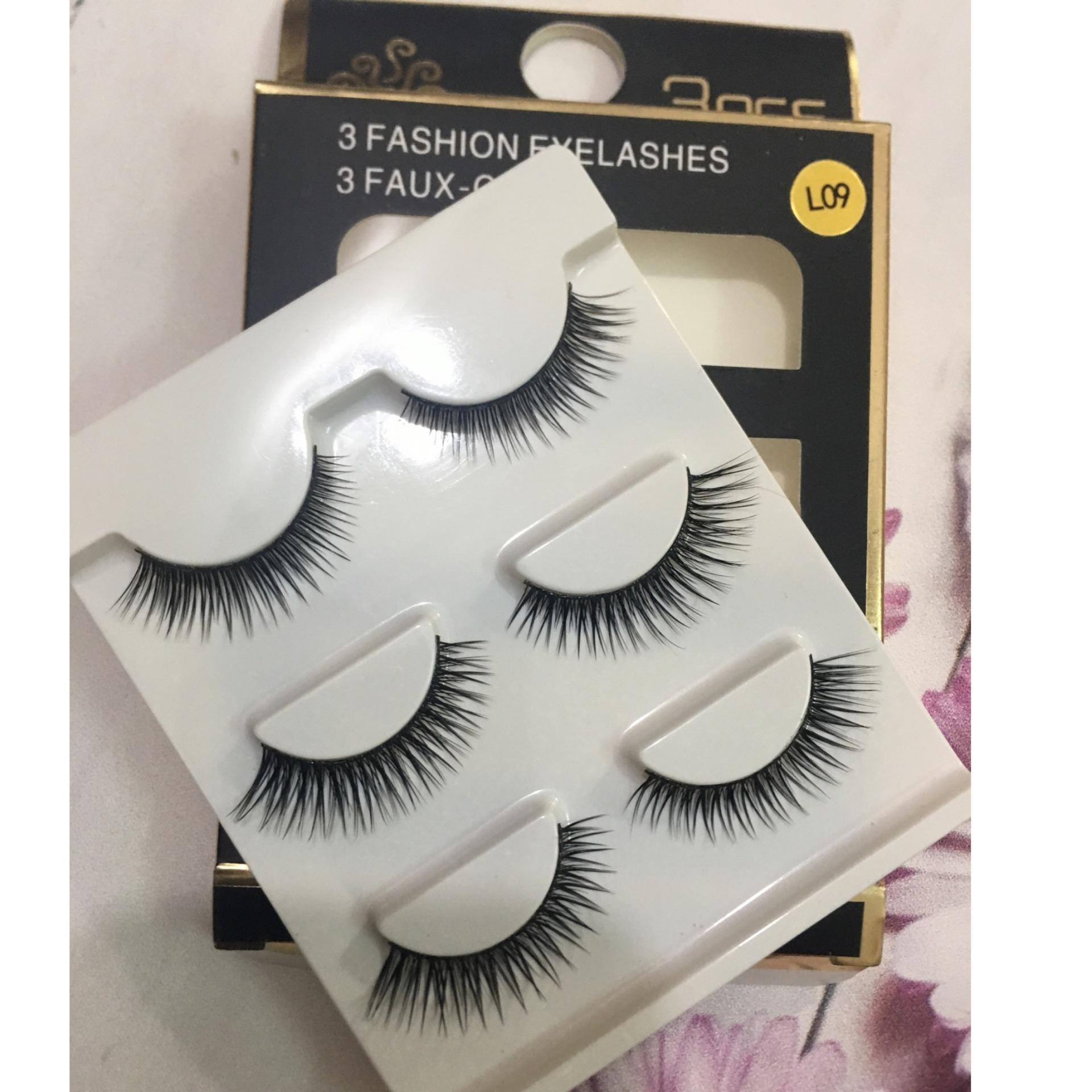 Lông mi giả 3D fashion eyelashes - 3D-L09 tốt nhất