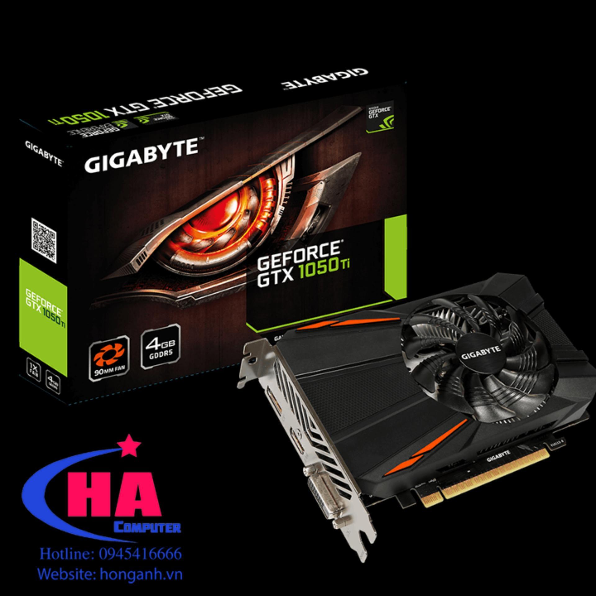 VGA Giga GTX 1050 Ti 4Gb 1 fan 2nd