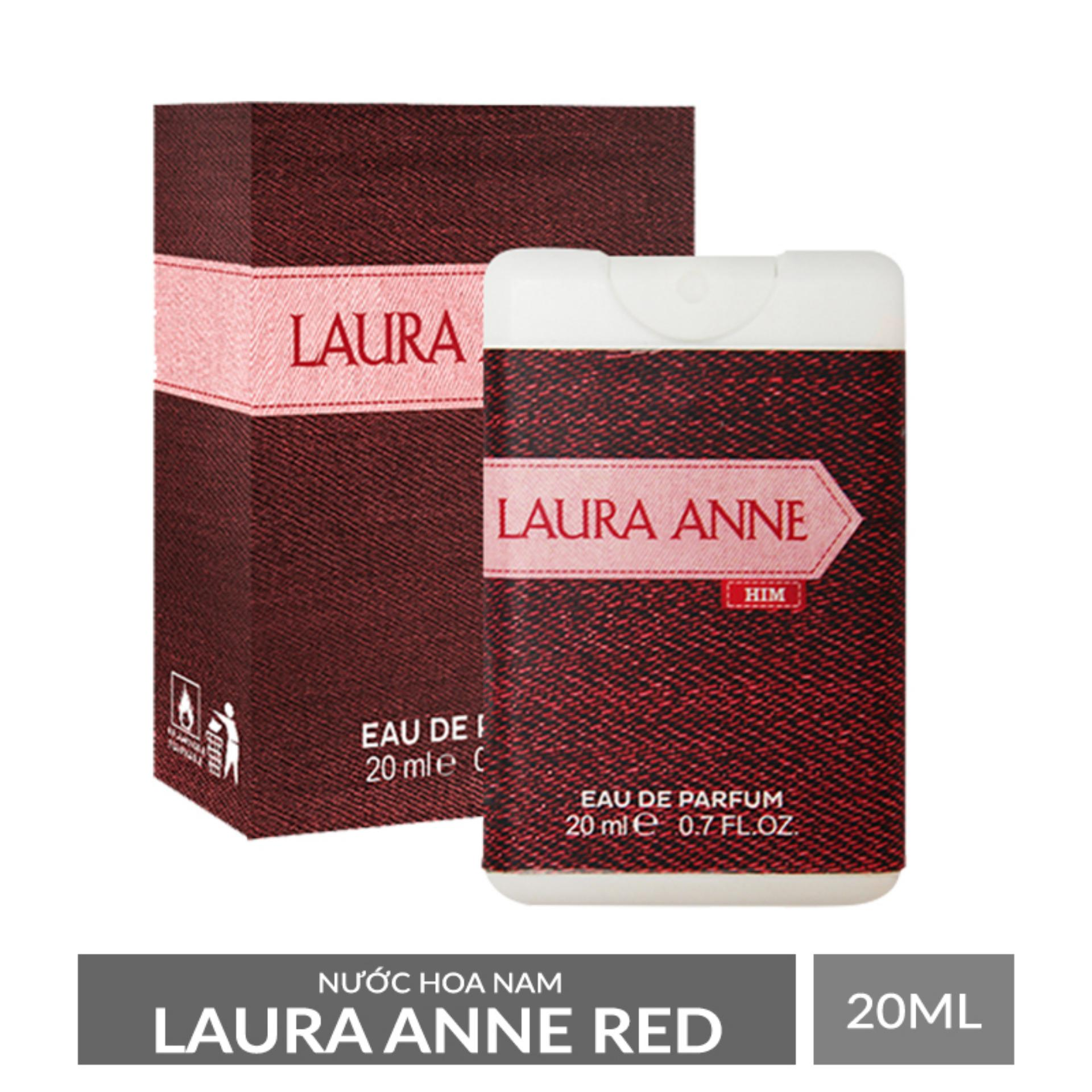 Nước hoa nam Laura Anne Red 20ml