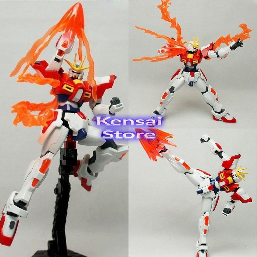 Robot Lắp Rap Bandai High Grade 018 Build Fighters Build Burning Gundam Nguyên