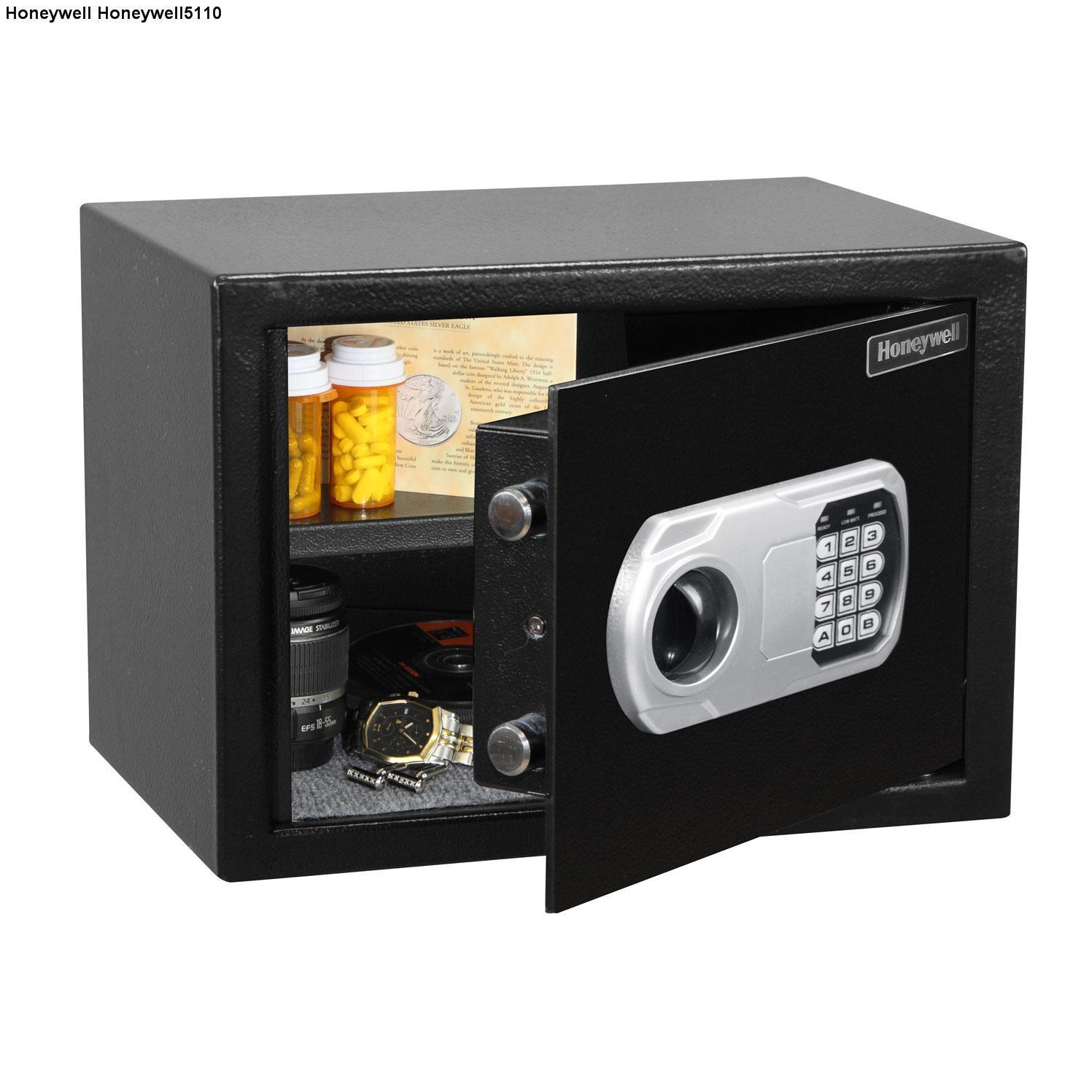 Két sắt an toàn Honeywell 5110 đen (khoá điện tử)