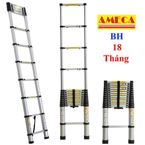 Thang nhôm rút đơn Ameca AMD380 - 3,8m