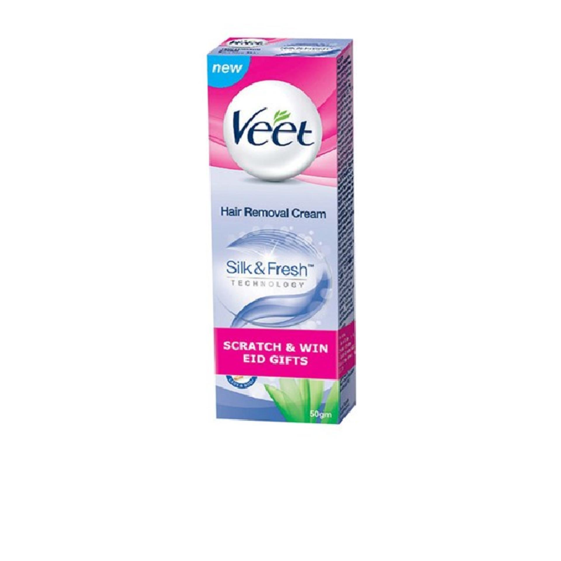 Kem Tẩy Lông Dành cho Da Nhạy Cảm Veet Silk & Fresh Sensitive 50g chính hãng