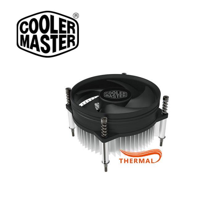 Quạt tản nhiệt cpu Cooler Master I30 - Sức gió tốt, quay êm, thay thế fan stock