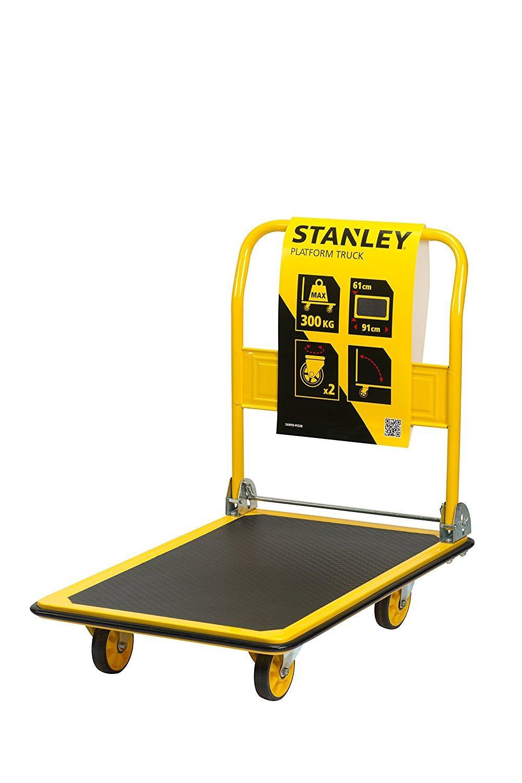 Xe đẩy tay 4 bánh cao cấp (có thể gấp gọn) Stanley PC528