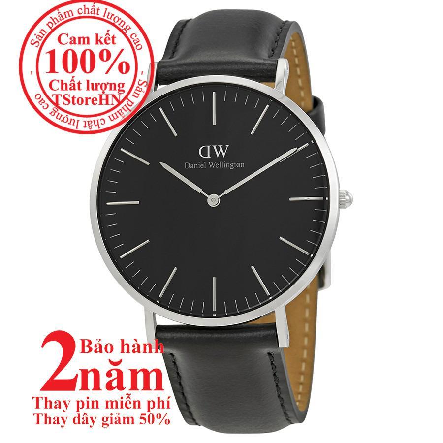 Giá Bán Đồng Hồ Nam Daniel Welington Classic Black Sheffield 40Mm Mau Bạc Silver Dw00100133 Oem