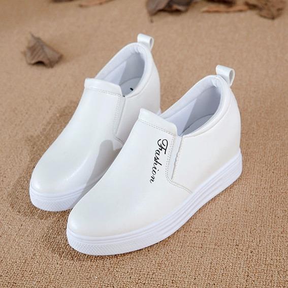 Giay Sneaker Độn Đế Nữ 6Cm Da Pu Ma H23 Koreashop888 Oem Chiết Khấu 40